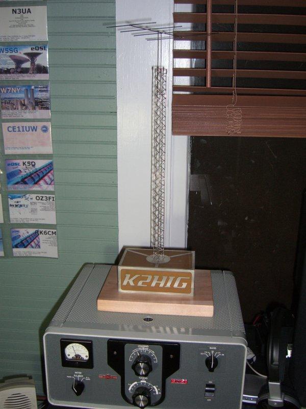 Build a mini radio antenna