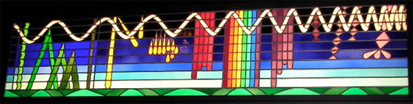Stained glass for geeks