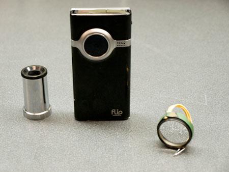 DIY lenses for Flip cams