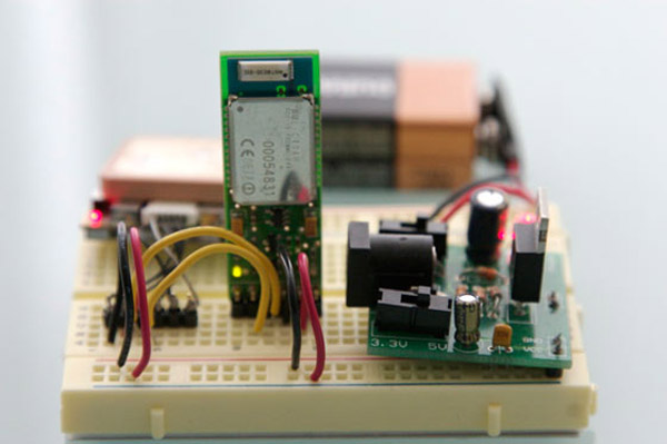Send GPS data to your computer without a microcontroller