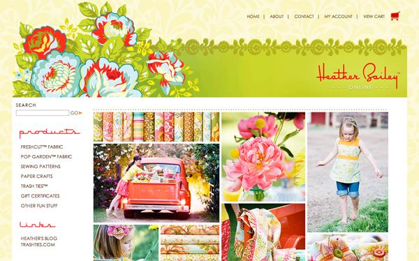 Heather Bailey's New Website