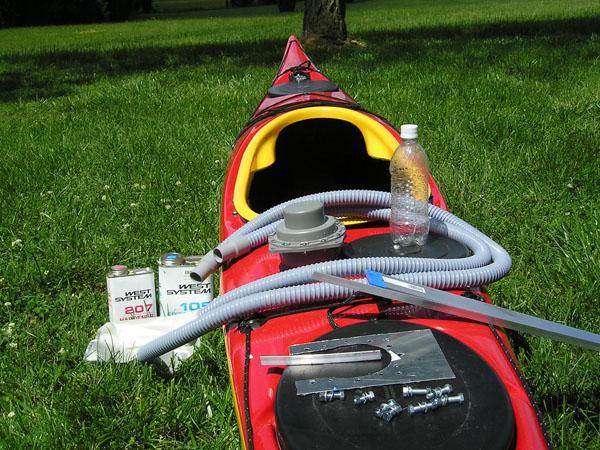 DIY: Kayak bilge pump