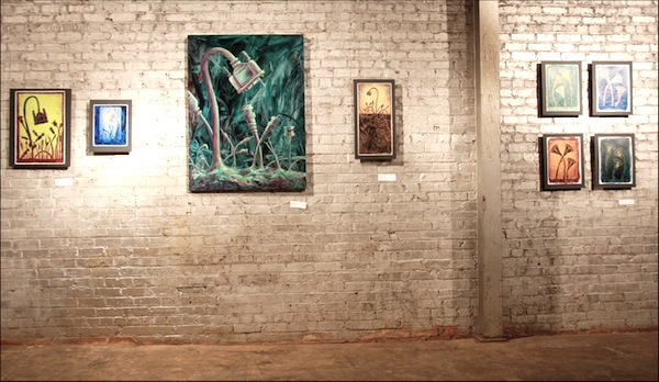 Entire art show of cable paintings