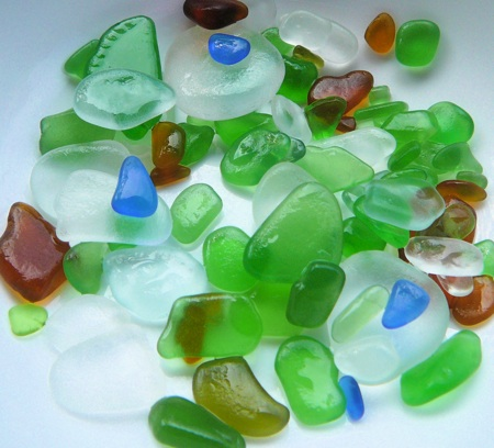 The sea glass of summer