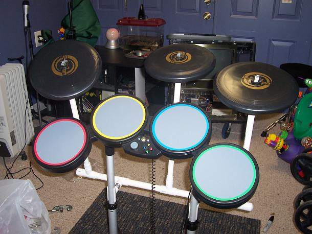 Add cymbals to your Rock Band kit