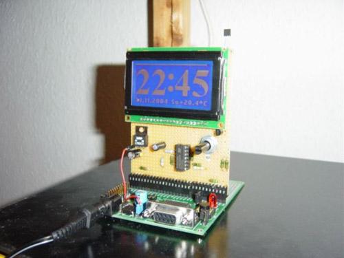 T-Clock: ARM7 LCD clock