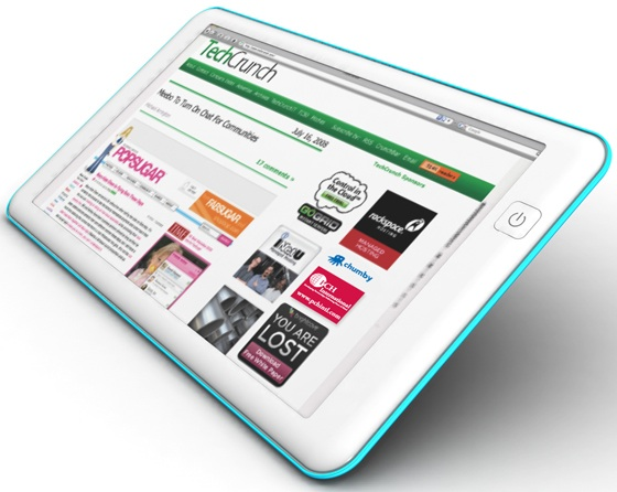 """The Techcrunch Web Tablet Project"""" – Check out Chumby"""
