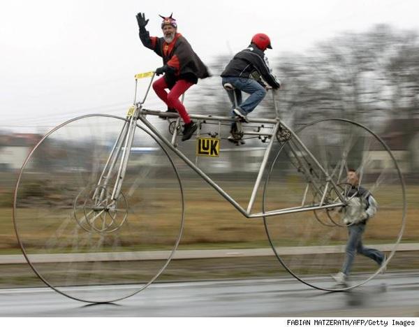 Odd bike…