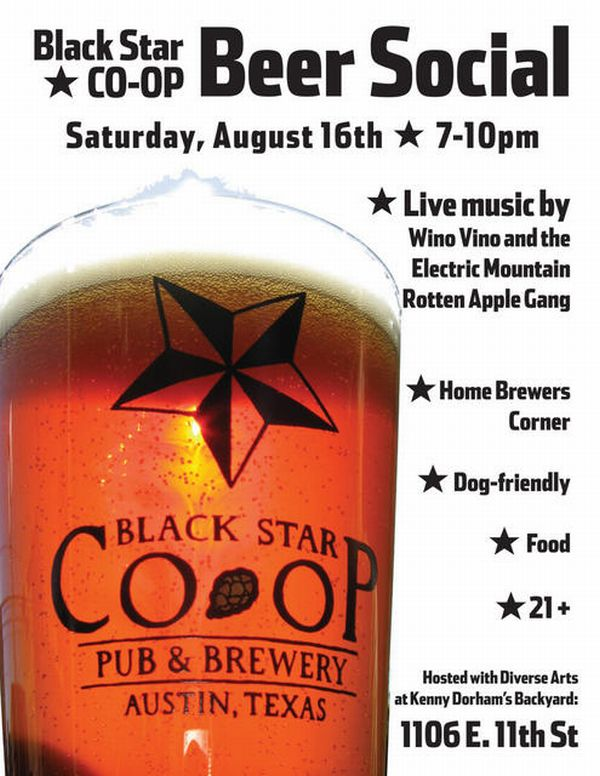 Austin Event: Beer Co-Op