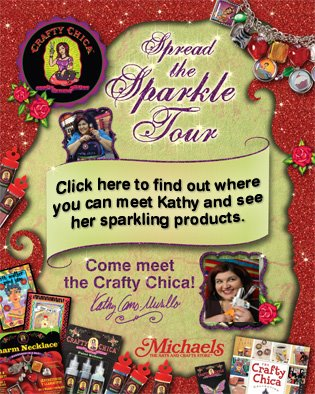 """Crafty Chica's """"Spread the Sparkle"""" Tour"""