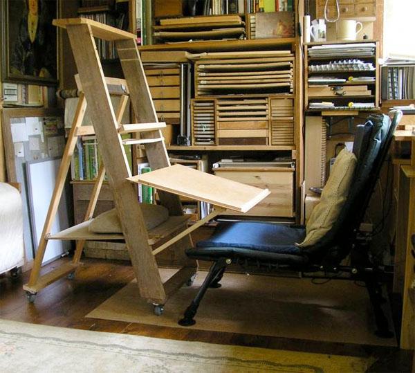 DIY easel-workstation