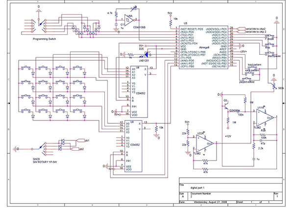 The making of a drum synth