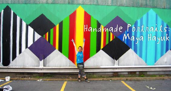 Etsy's Handmade Portrait on Artist Maya Hayuk (Video)