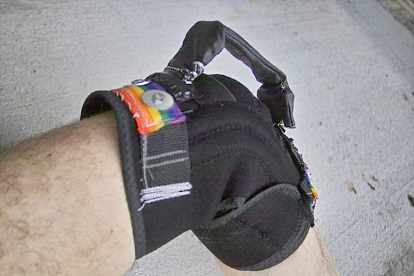 Modded knee brace
