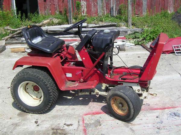 DIY: Electric Cub Cadet Tractor