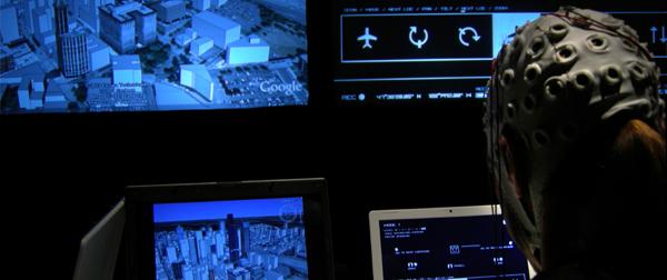 Brainloop allows you to mentally navigate Google earth