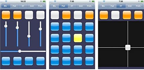 Homebrew iPhone MIDI controller