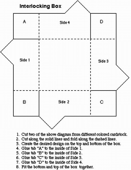 Paper box templates