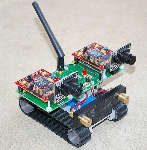 Nifty robot 3D vision system