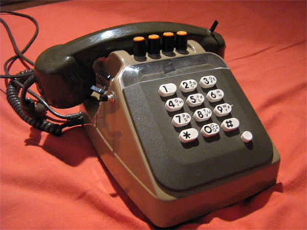 Modded telephone turns your voice into a space alien chipmunk