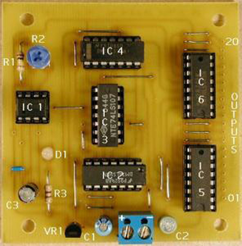 Traffic light control circuit will lead you in the right direction