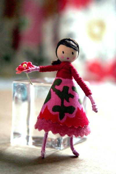 "Making it Lovely's ""Whimsical"" Doll"