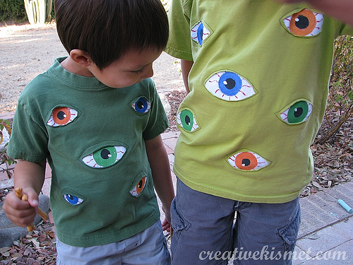 HOW TO – Reverse Appliqué Eyeballs