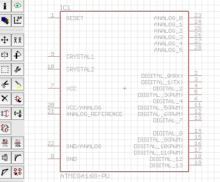 Arduino AVR library for EAGLE