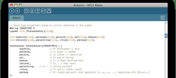 Bitlash – Arduino command line shell