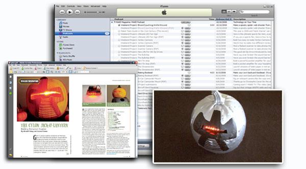 """Not so lazy Sunday… Weekend Project – Cylon Jack """"O Lantern"""