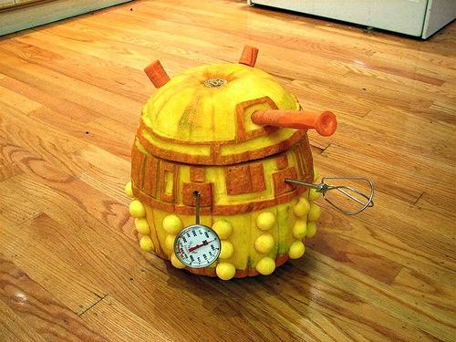 Dalek on wheels!