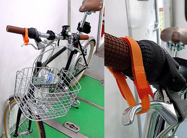 DIY bike brake lock