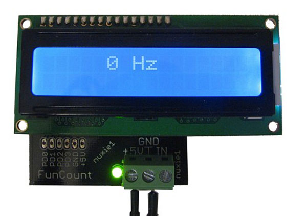 Build a frequency counter