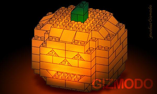 How To: Build a 3D Lego Halloween Pumpkin