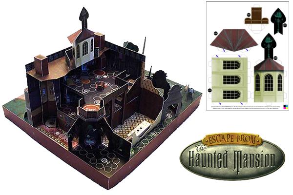 Disney's Haunted Mansion Printable Game Download