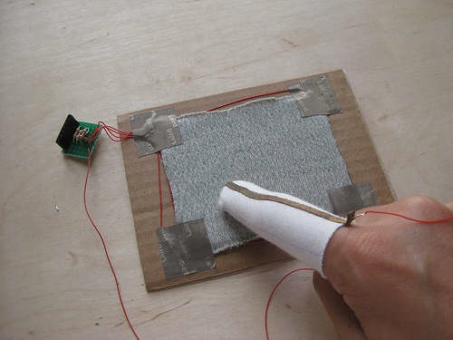 Knit Touchpad