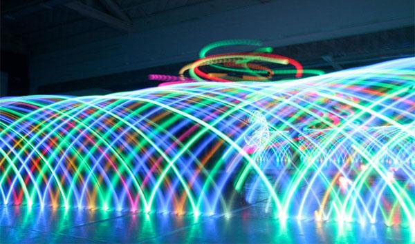 LED Hula Hoop photo contest