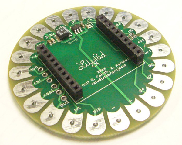 LilyPad Arduino XBee mashup ready for prime-time