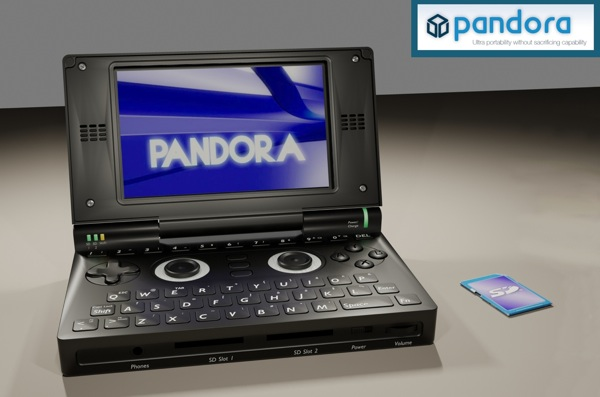 Pandora The OMAP3 powered handheld Linux console