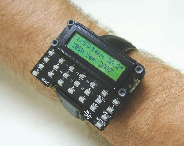 Form and Functions –  Awesome homemade calculator watch (make your own too!)