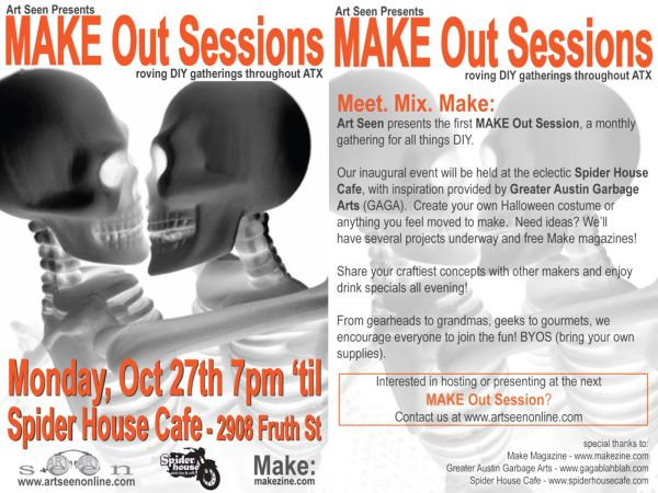 Austin Event: MAKE Out Session #1