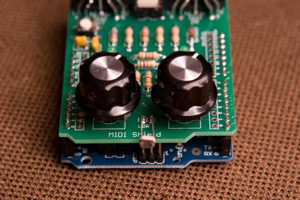 MIDI Shield