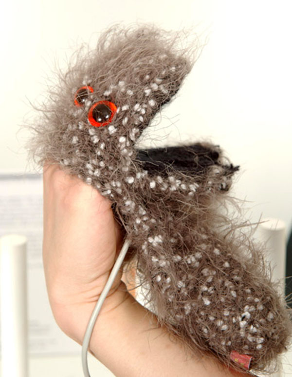 Hand puppet instruments help illustrate musical theory