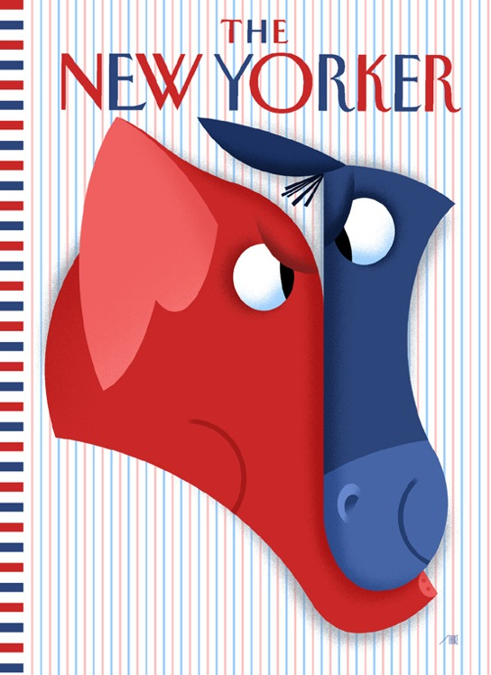 How the New Yorker cover was made…