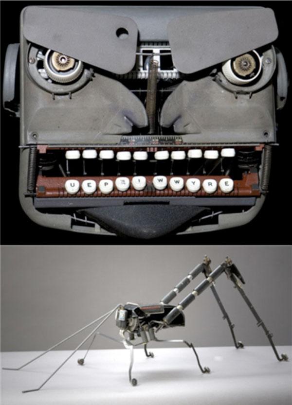 Typewriter robots get a facelift