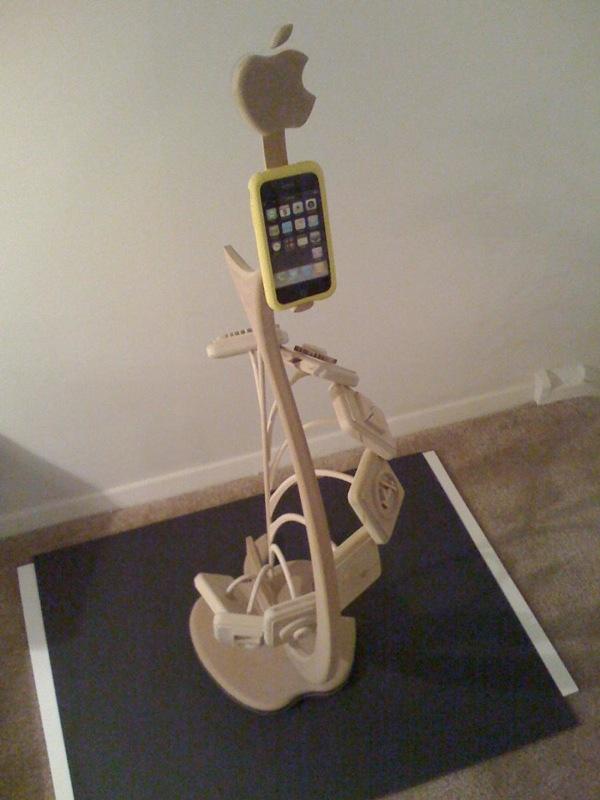 iPhone sculpture