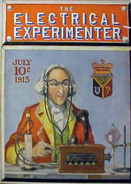 How to make it, Science and Invention, Electric Experimenter & Practical Electronics covers