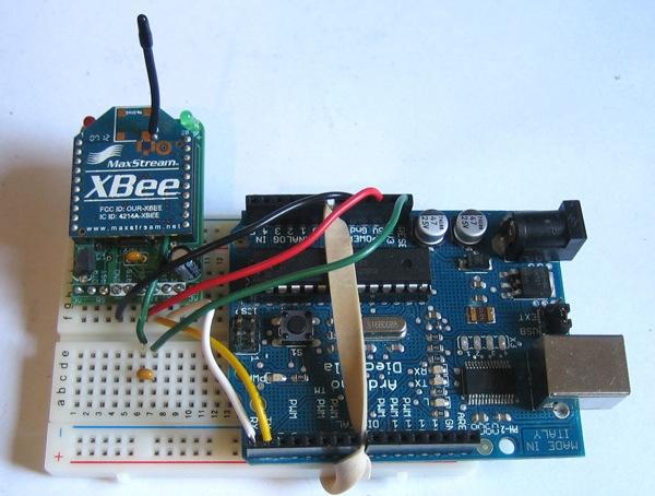 Xbee Adapter – wireless Arduino programming