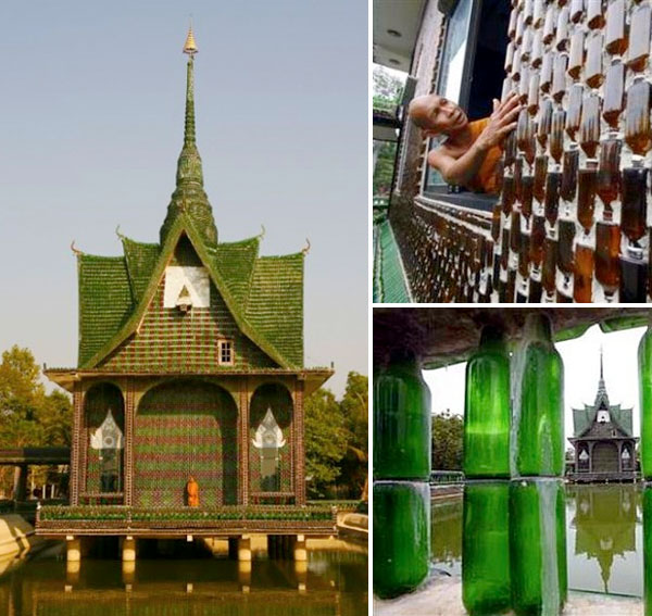 Temple of bottles