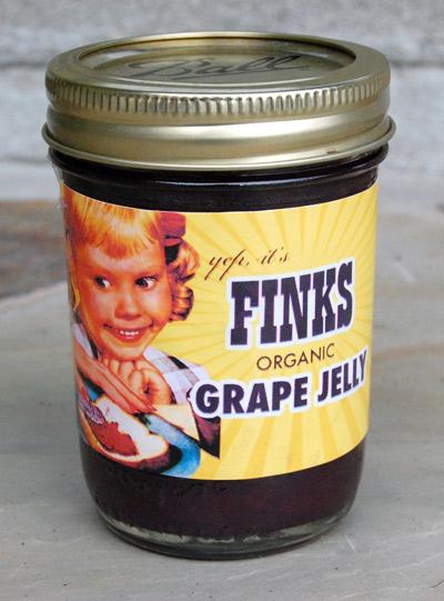 Yep, it's Fink's Grape Jelly